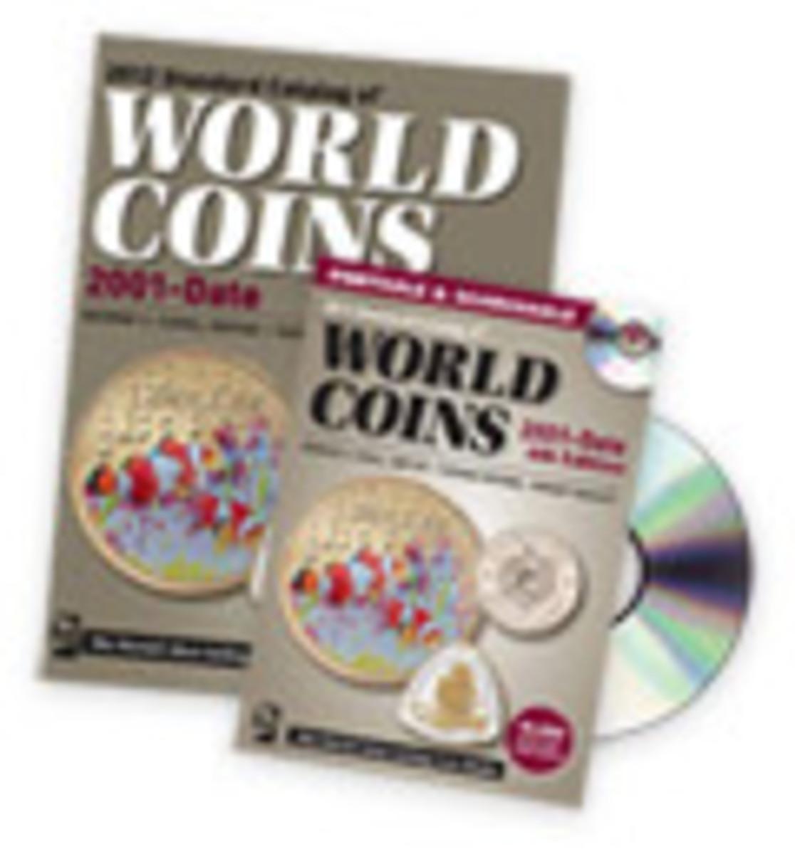 2012 Standard Catalog of World Coins 2001-Date Book + CD