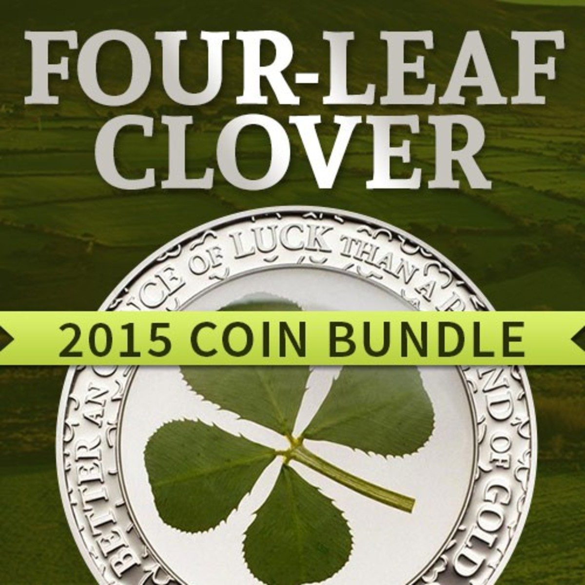 It's your lucky day! In celebration of St. Patrick's Day we're offering this special deal on two must-have items for any coin collector.