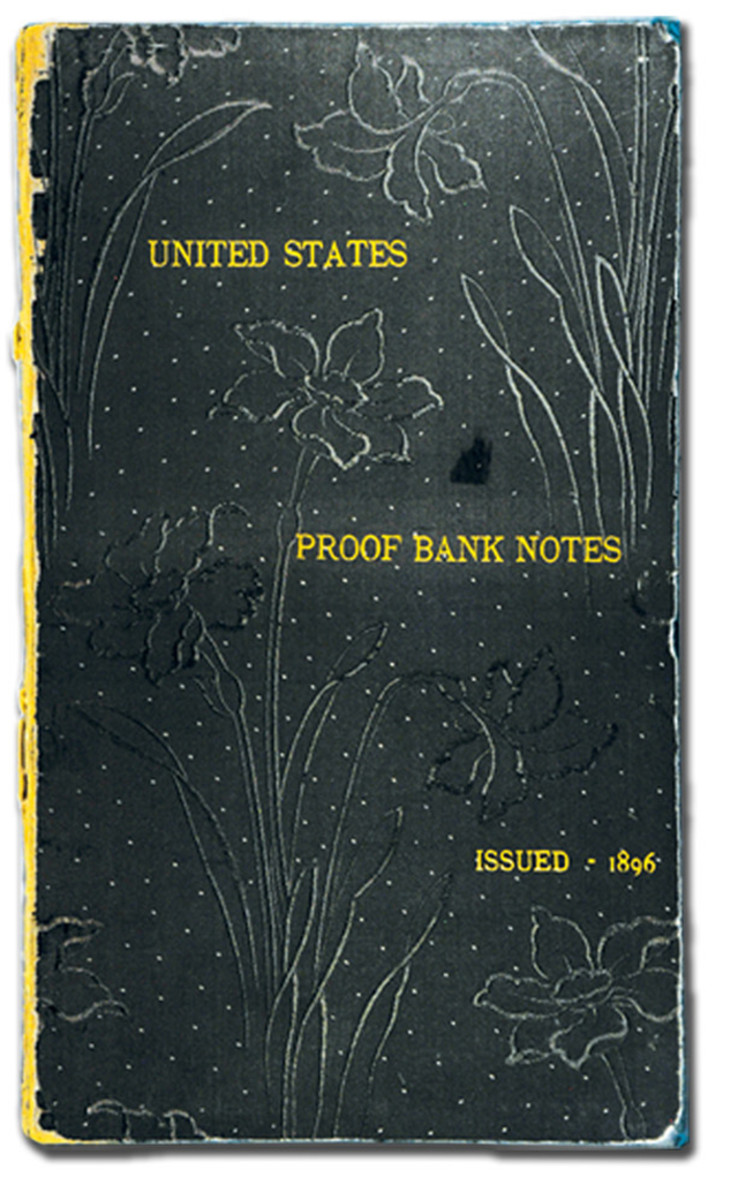 Cover of the folio holding the proof 1896 Educational notes