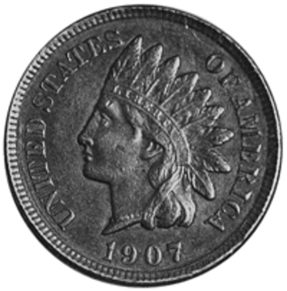 A 1907 Indian cent, along with a 1906 nickel, were the first coins purchased by the author more than 50 years ago.