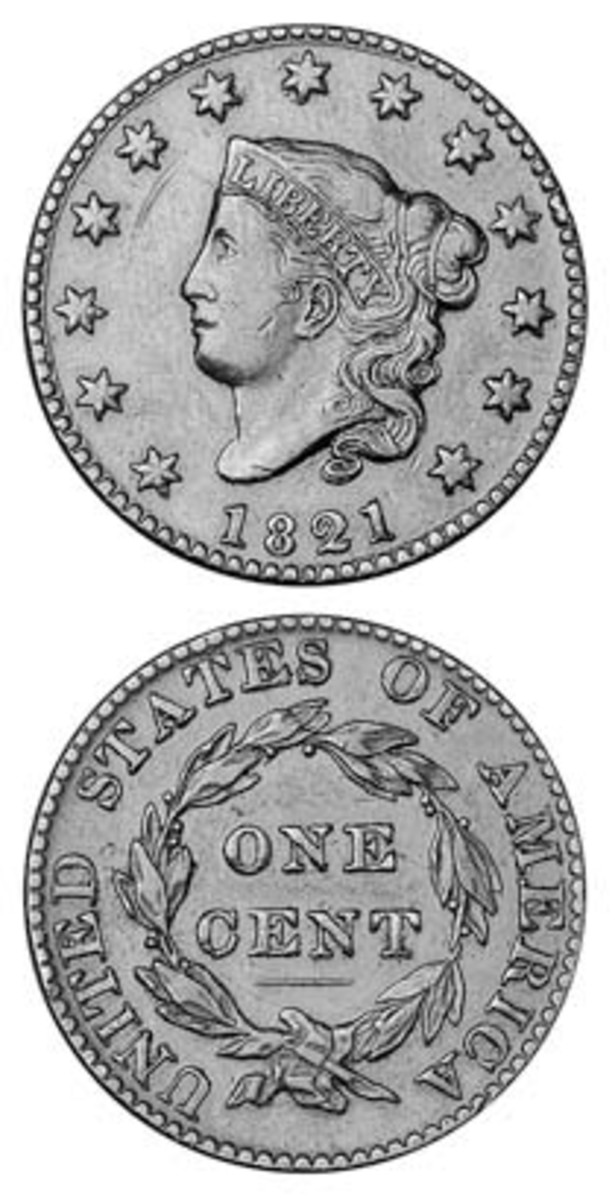Assumptions about the availability of the 1821 Coronet head large cent, which is the lowest-mintage year for the entire run of that design, have recently been reexamined.