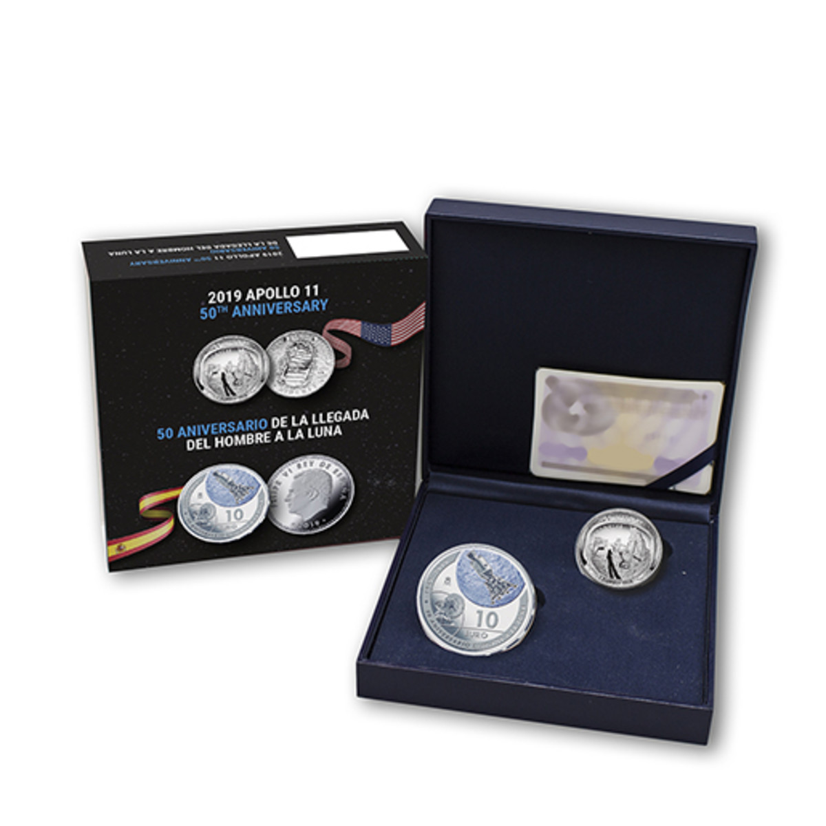 Both coins come packaged together in an attractive box with certificate of authenticity.