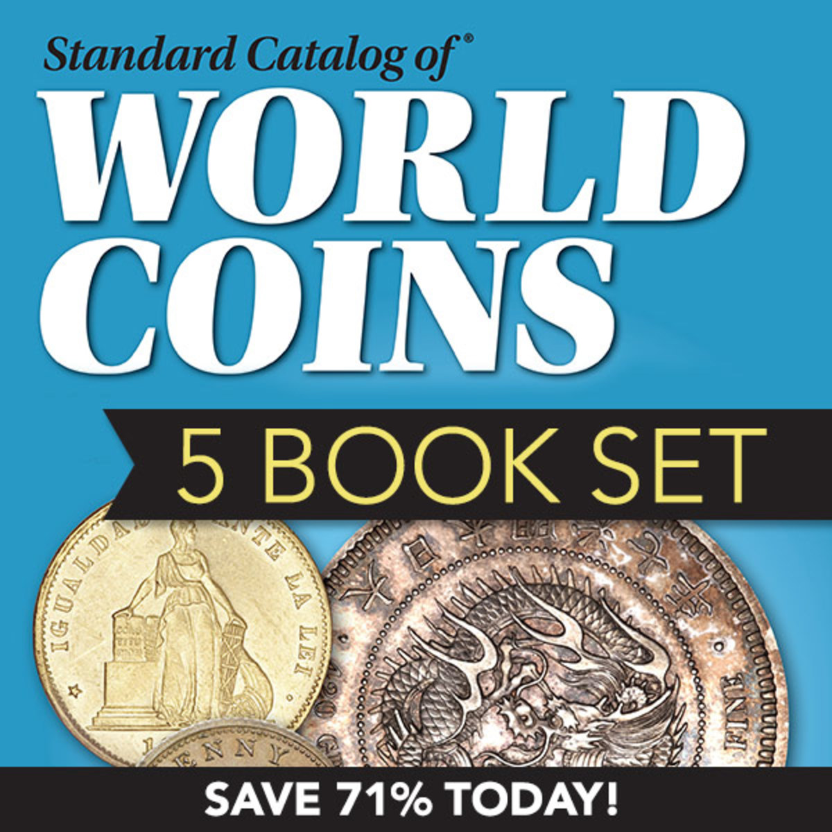 Check out the Standard Catalog of World Coins 5-Book set, on sale now!