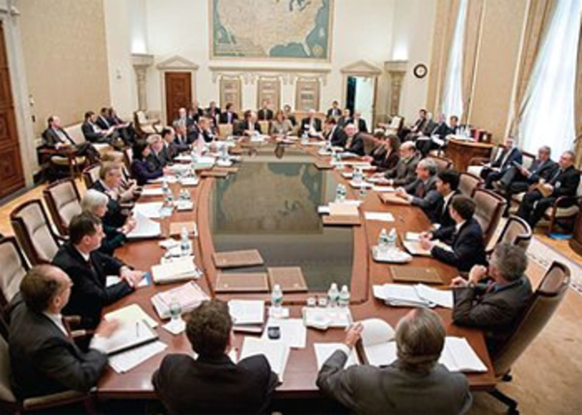 The Federal Open Market Committee meets at the Eccles Building in Washington, D.C. (Image courtesy Wikimedia.org)