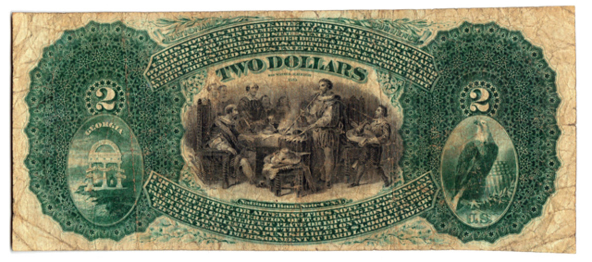The newly discovered Georgia $2 is slated to be auctioned on July 11.