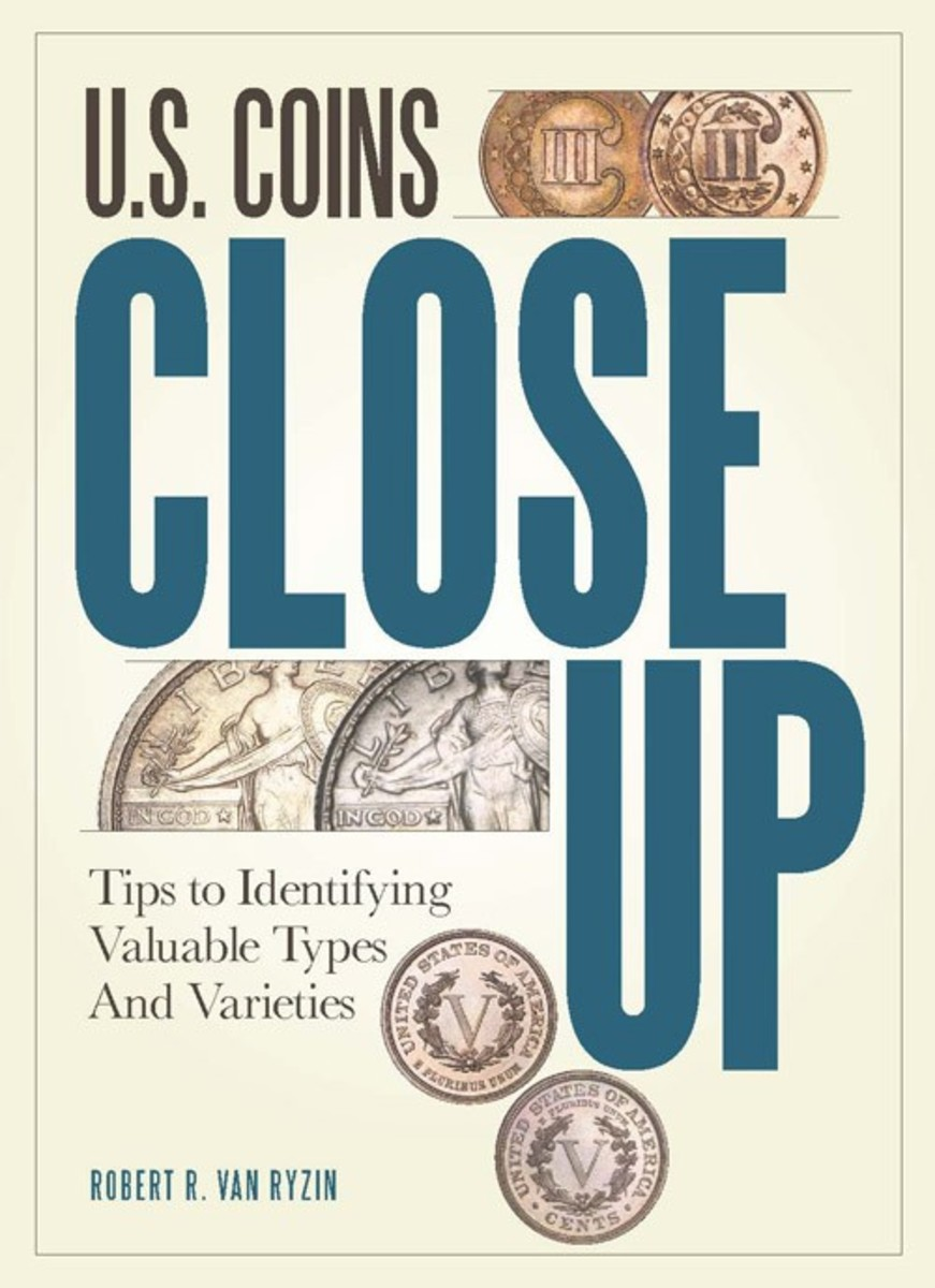 U.S. Coins Close Up is great for identifying errors and varieties through zoomed images without having to rely on guesswork.
