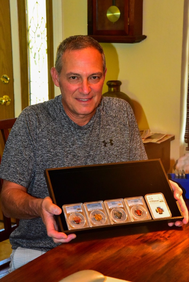 Larry Casagrande, a longtime collector from Clayton, Calif., has a passion for U.S. type sets, toned coins, and classical commemoratives.