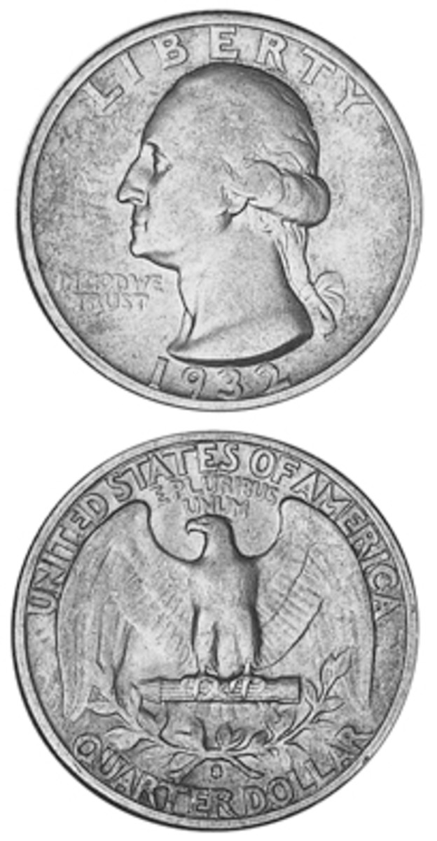 While priced at the same level as the 1932-D series key date in lower grades, the more readily available 1932-S Washington quarter parts ways with it price-wise in any grade above VF-20.