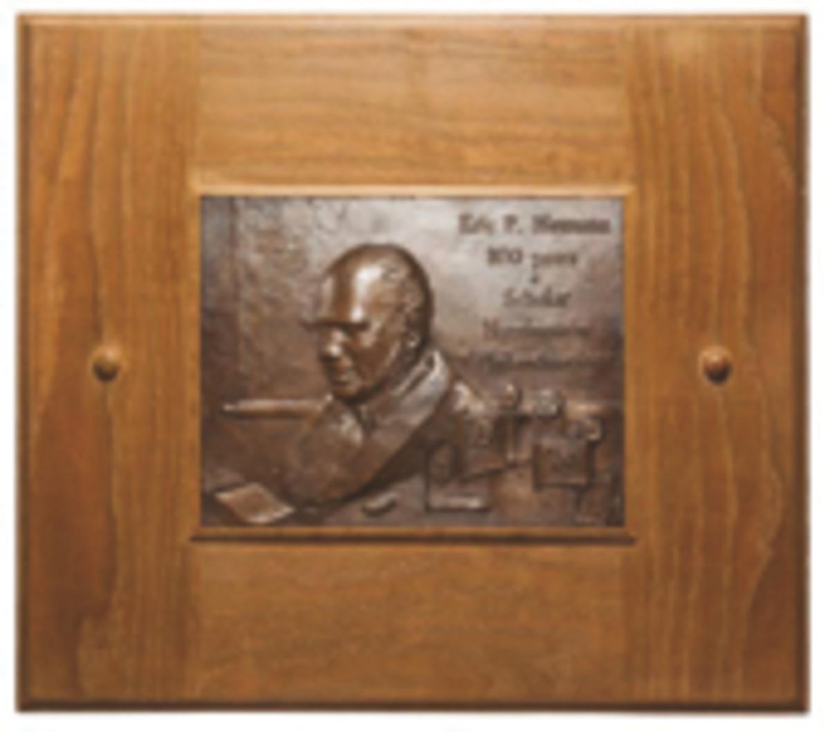 eric newman plaque