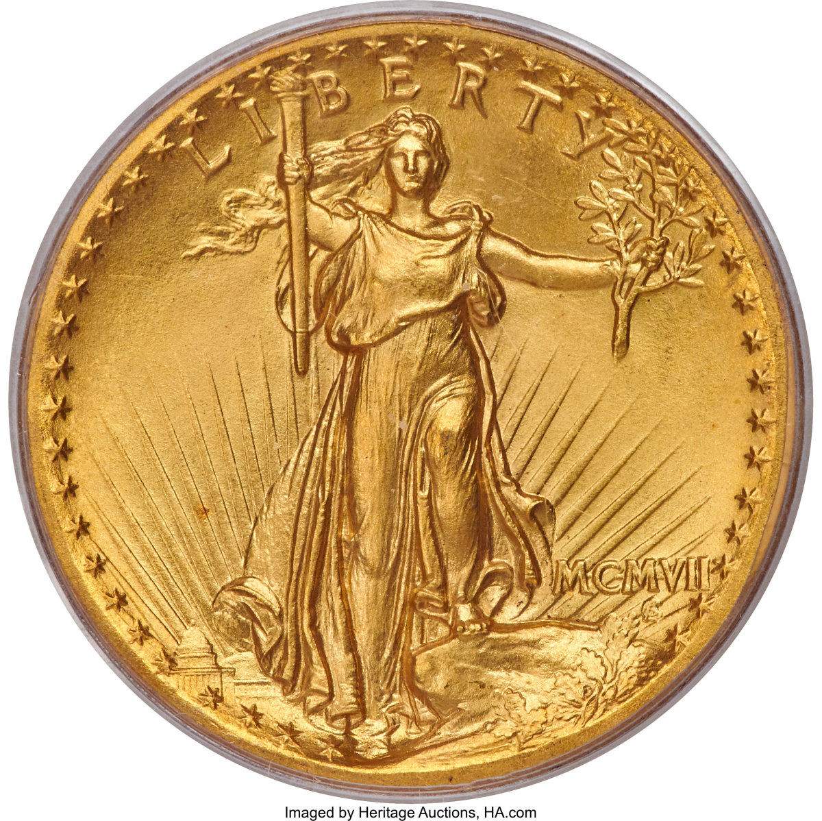 1907 Gaudens Double Eagle