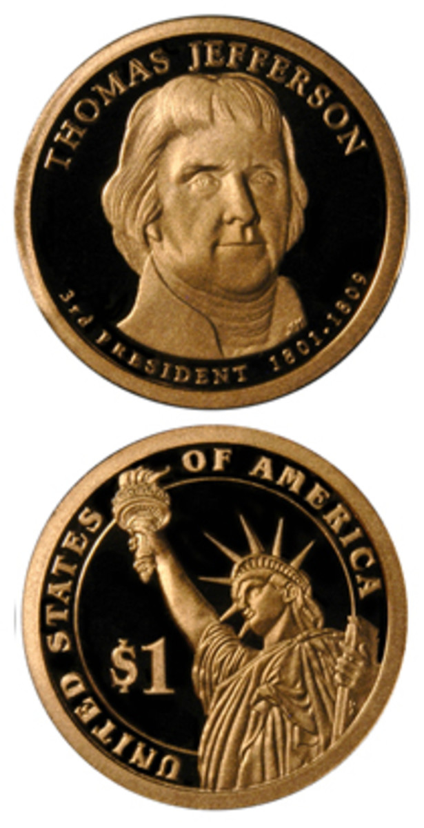 2007-S proof Jefferson dollar