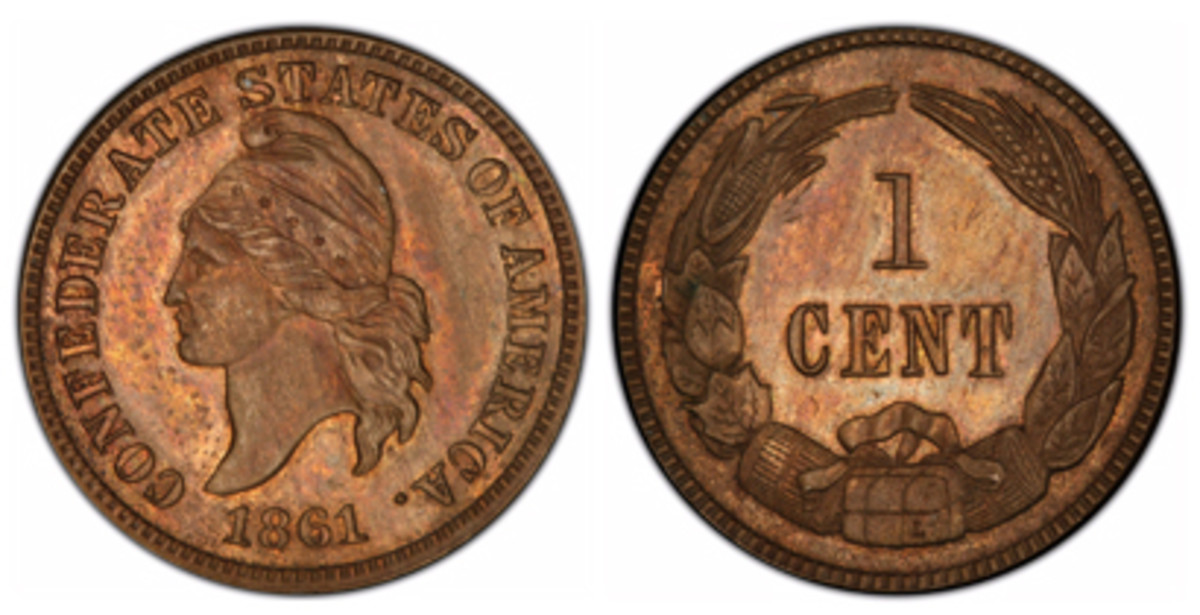 Insured for $250,000, which is less than the $1 million for the Confederate half, this piece will also go on display in August in Philadelphia.
