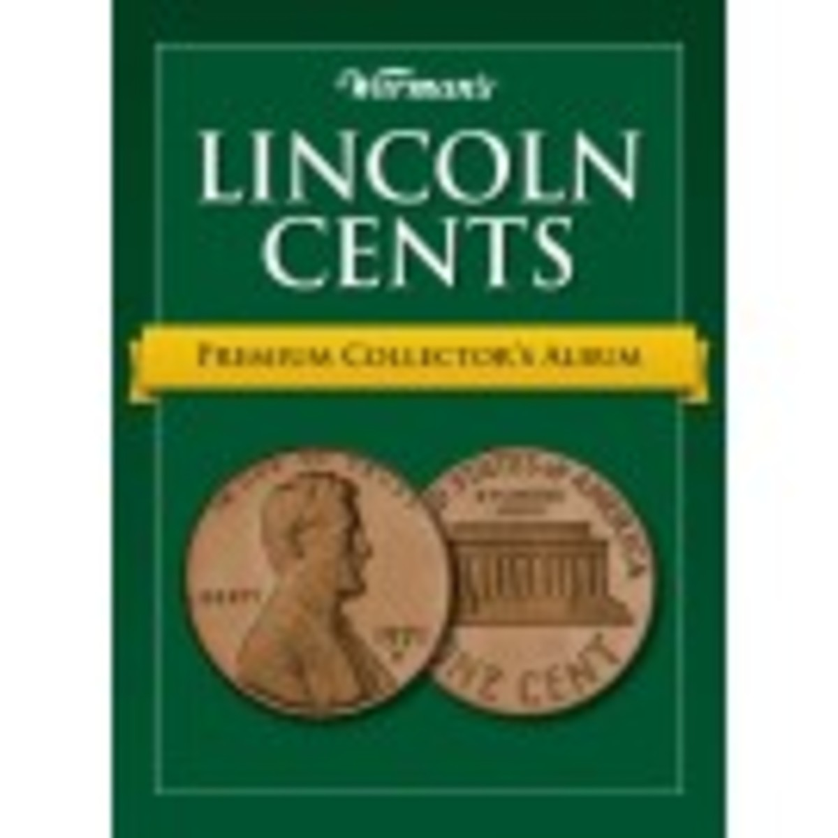 Warman's Premium Lincoln Cent Album
