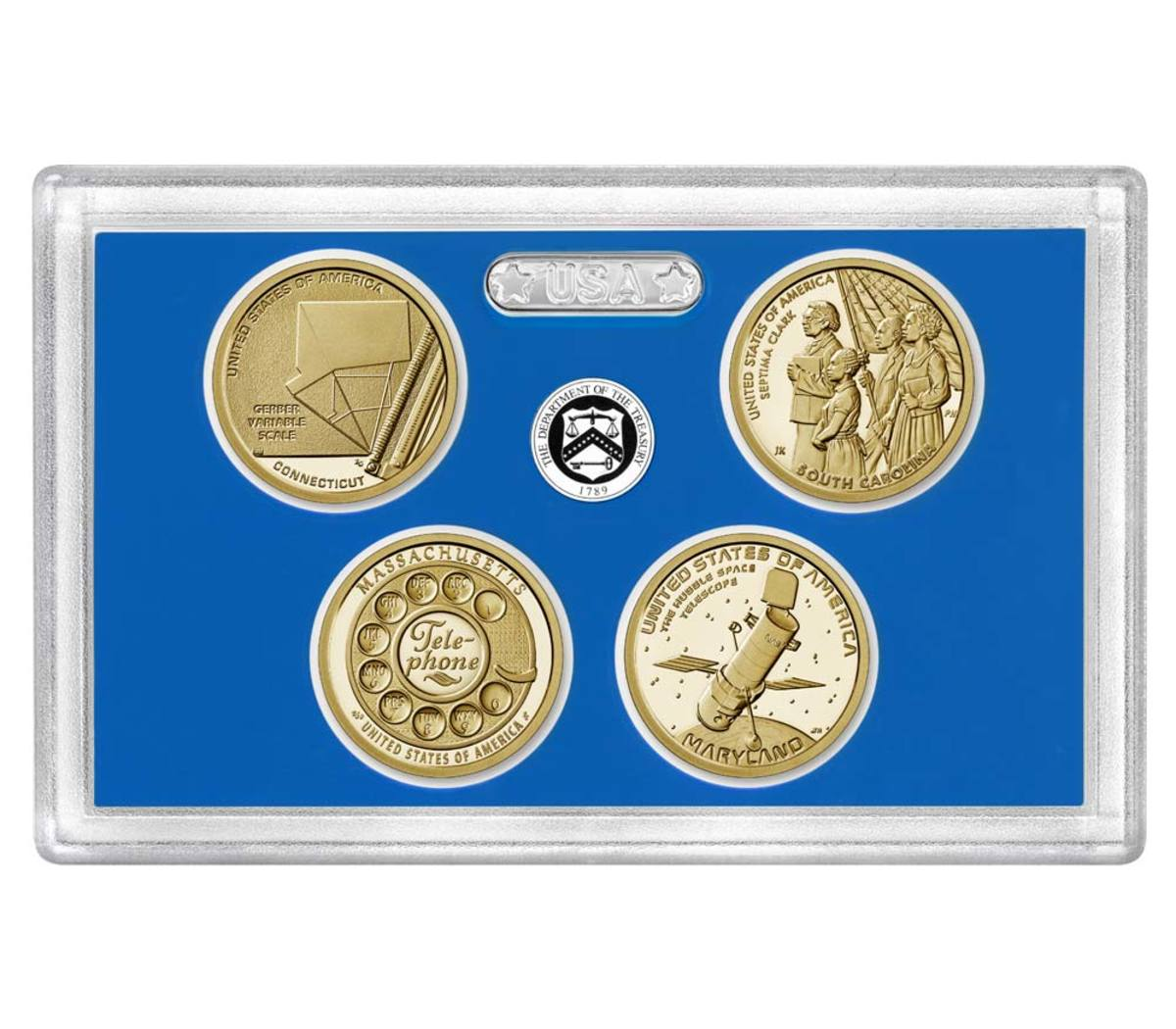 The American Innovation Proof set goes on sale Oct. 8 at noon EST.