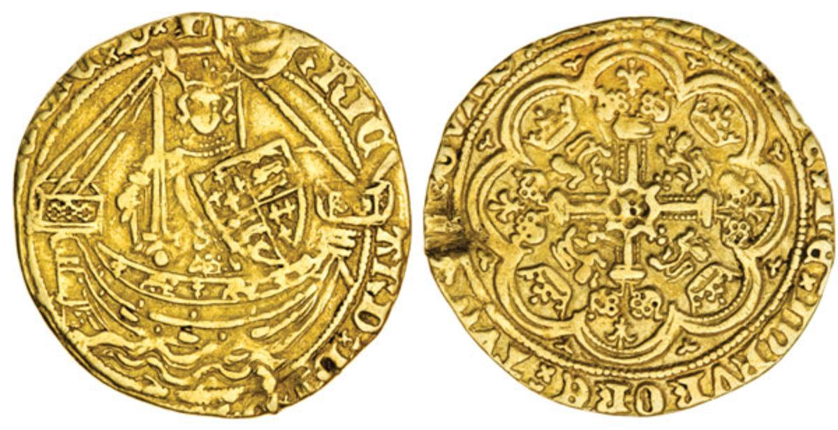 Half Noble of Richard II, Tower Mint