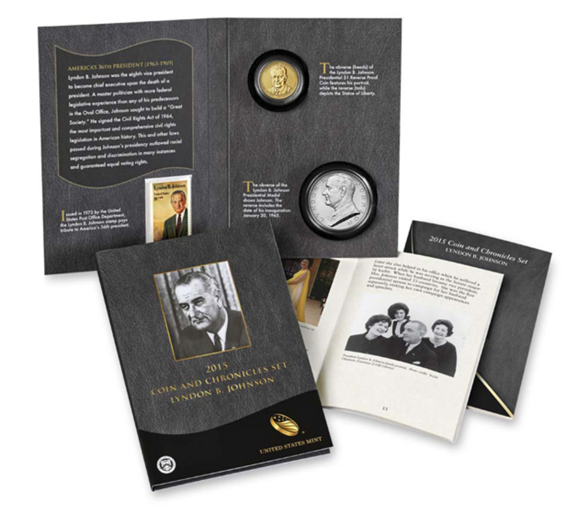 The Johnson Coin and Chronicles set, while not an immediate sellout, still saw its entire inventory purchased the first day.
