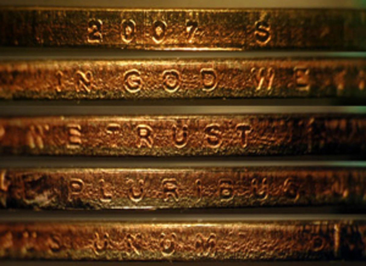 The photos of the edge shown here are a mockup from a normal coin but stacked in the sequence in which they'd be seen around the edge on the error coin.