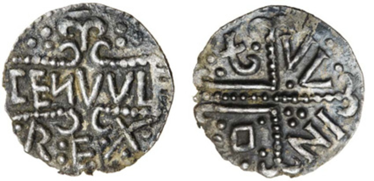 Choice three-line penny of Coenwulf, c. 796-797, struck in London (S-912A). In gVF, it carries an estimate of £2,000-£2,500. (Images courtesy and © Spink)