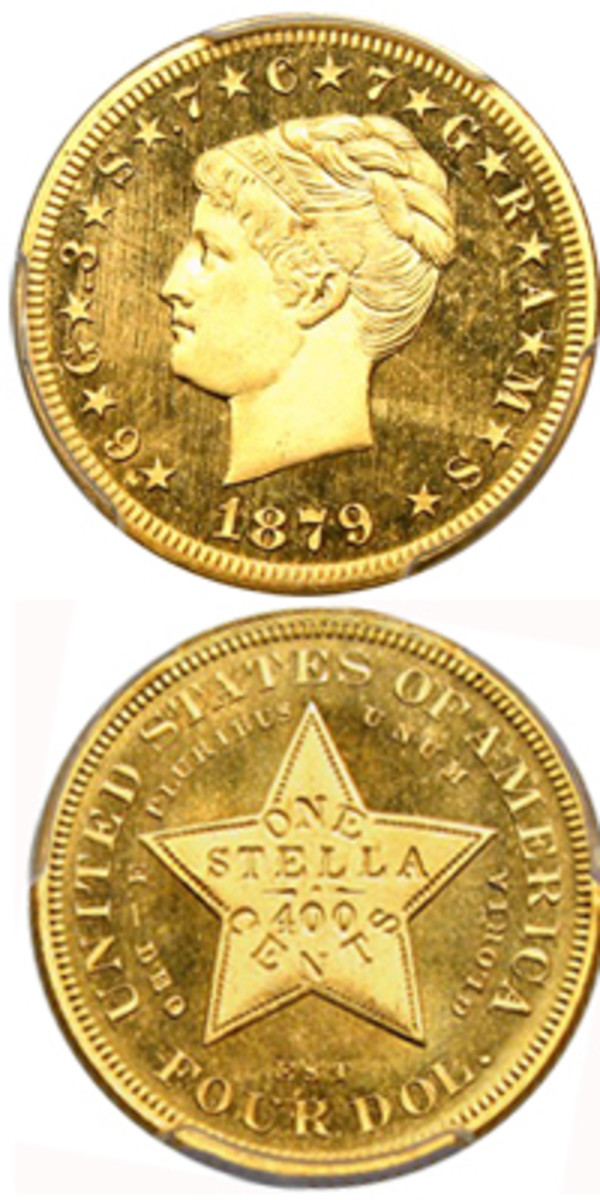 This gold $4 has sold for over $1 million.