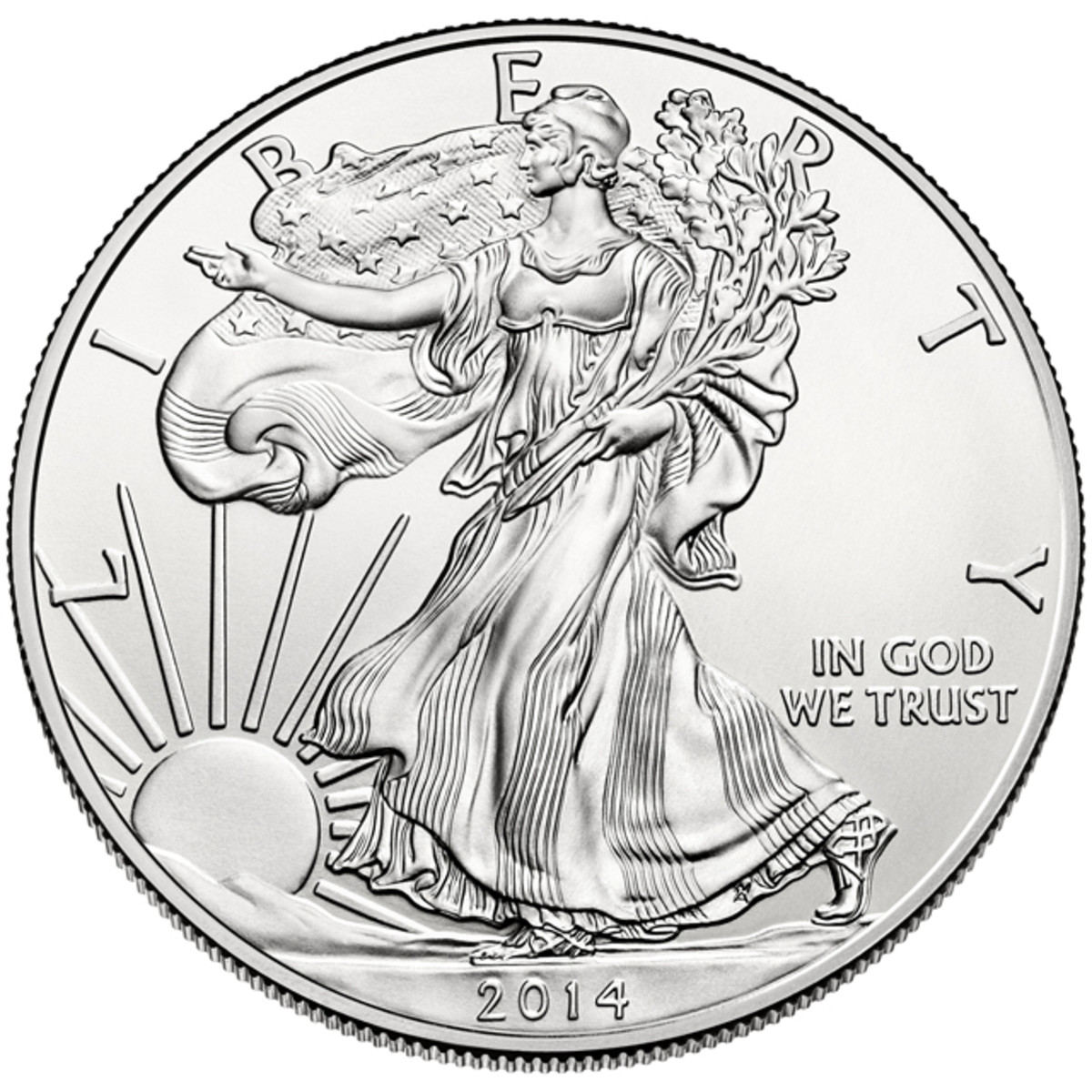 One-ounce silver American Eagle bullion coins went on sale Nov. 17 since rationing began.