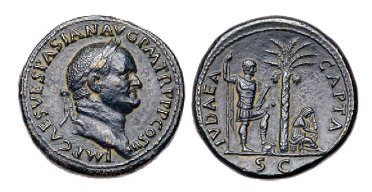 Tripling the estimate of $4,000, this bronze Sestertius sold for $12,000.