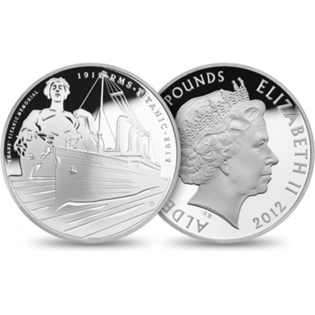 Alderney 5 pounds