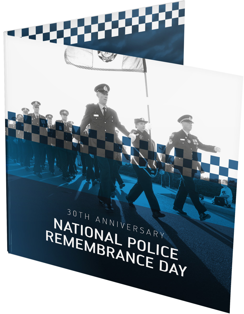 30th Anniversary of the National Police Remembrance Day – 2019 $2 Coloured Uncirculated 'C' Mintmark Coin - Front