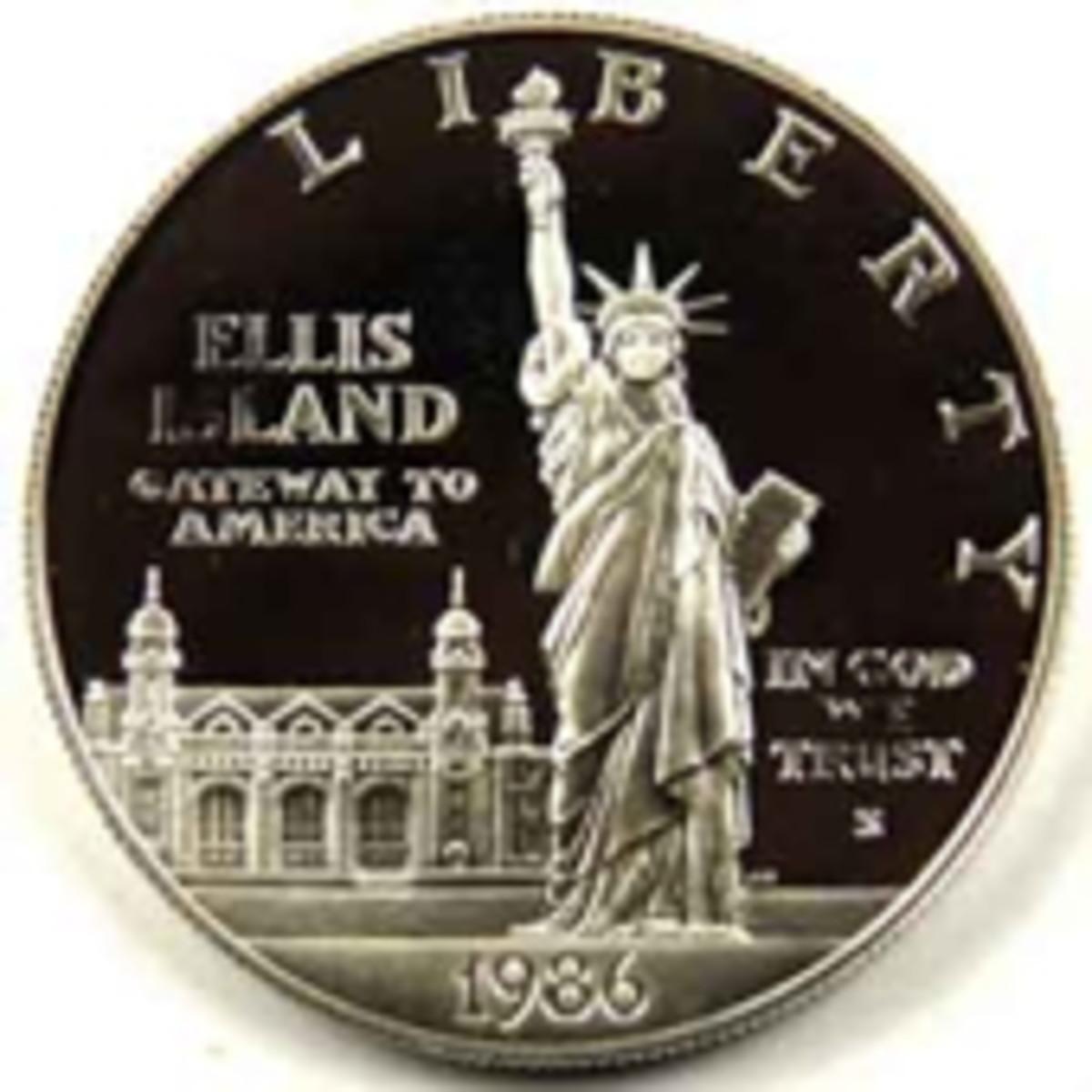 Statue of Liberty Commemorative coin