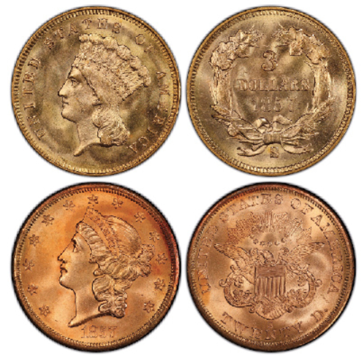 (Images courtesy Professional Coin Grading Service, www.PCGS.com)