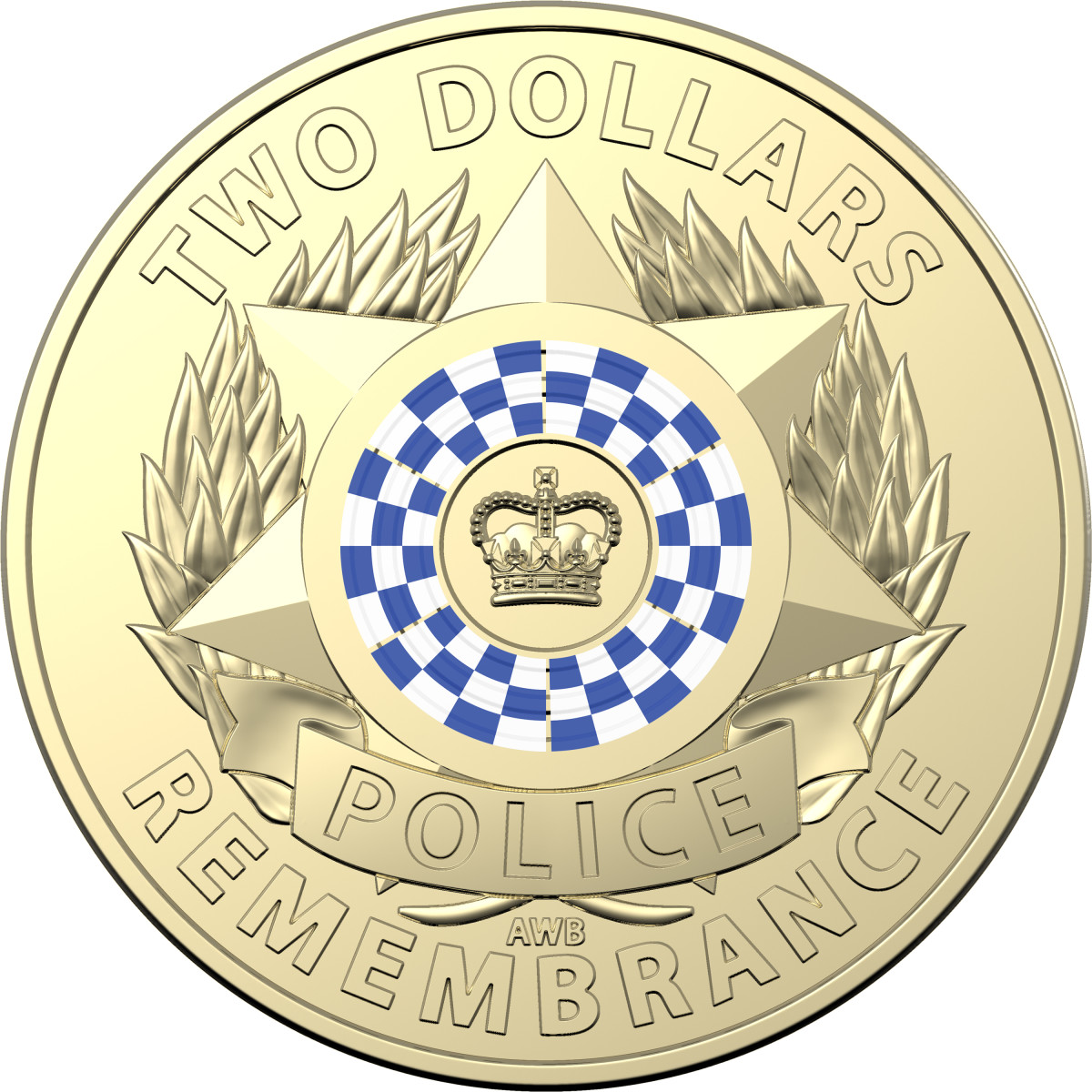 30th Anniversary of the National Police Remembrance Day – 2019 $2 Coloured Circulating Coin