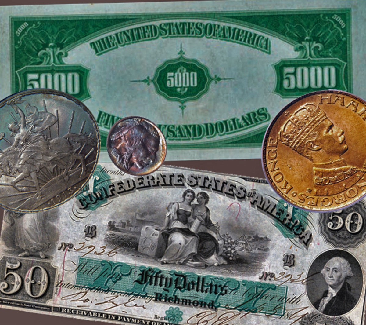 Collectors, especially numismatists, are encouraged to enter.
