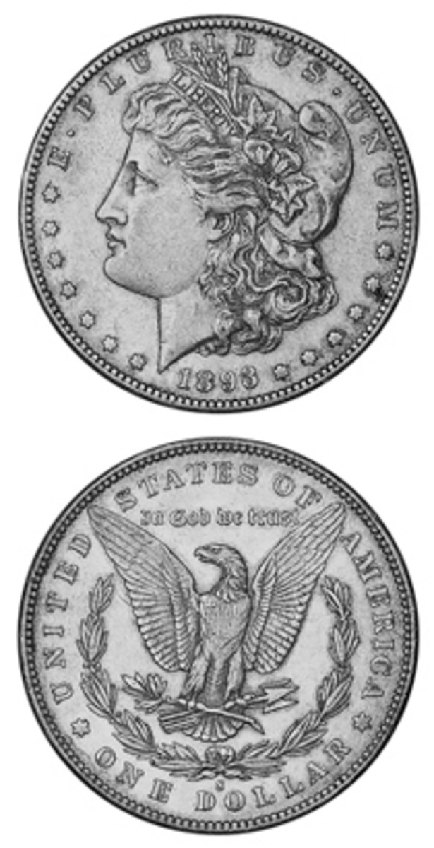 The key to the Morgan silver dollar series is a product of 1893. It was struck at the San Francisco Mint, and only 100,000 were made.