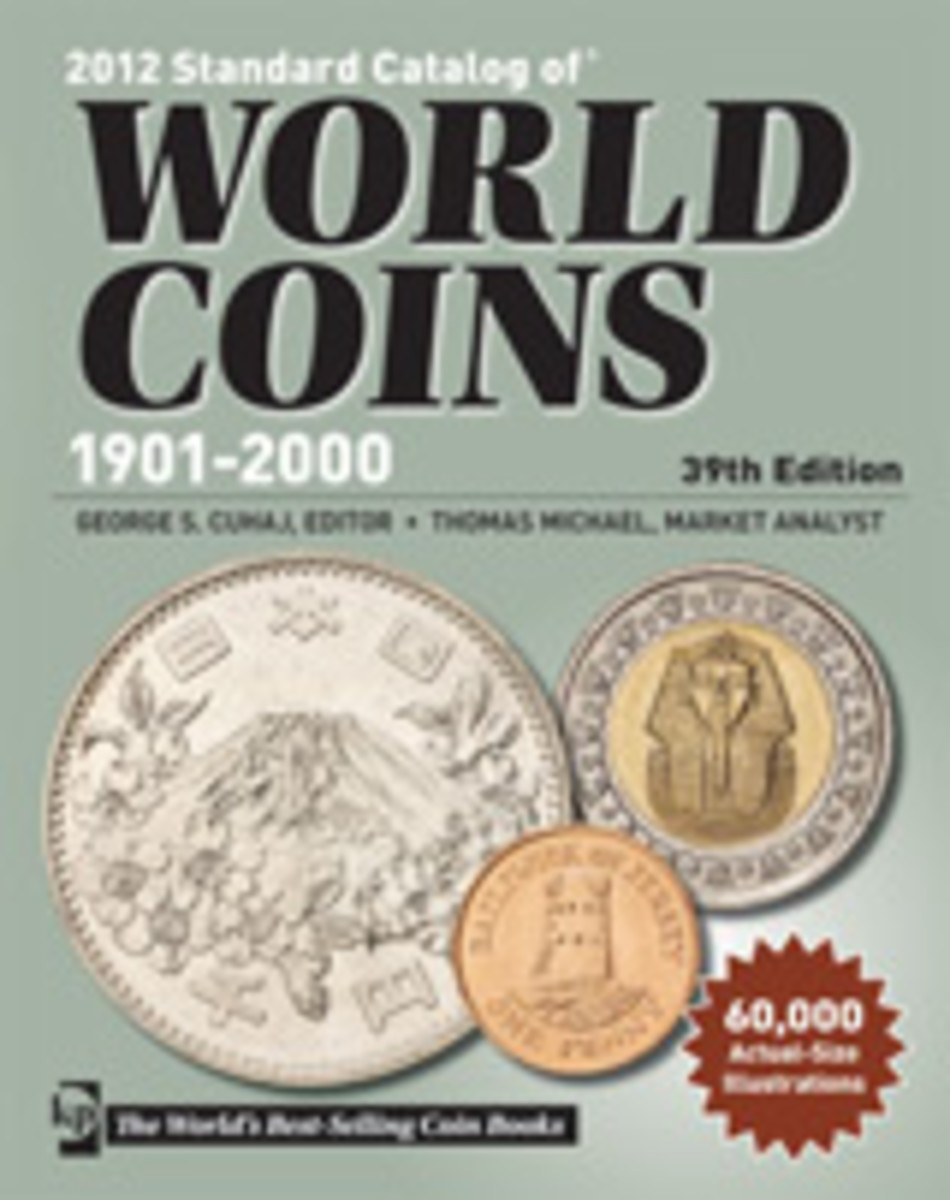 2012 Standard Catalog of World Coins - 1901-2000
