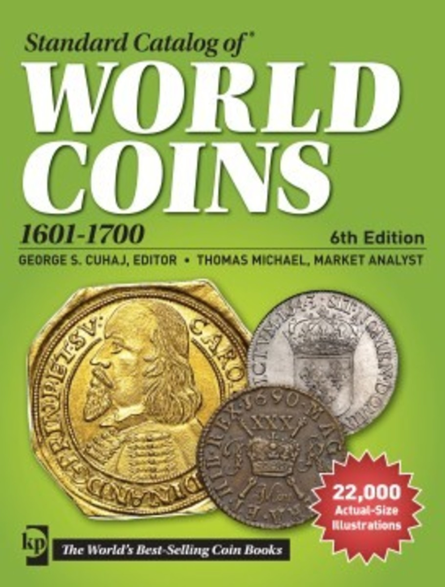 The Standard Catalog of World Coins 1601-1700 is the most complete volume on coins of the 17th century available on the market today.