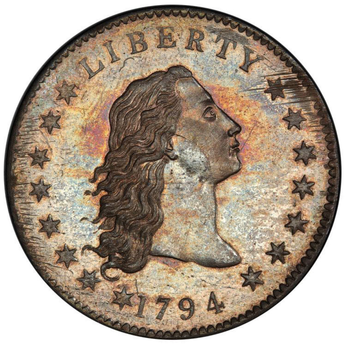 A 1794 dollar that last sold for $10 million will highlight Legend Auctions' October sale.