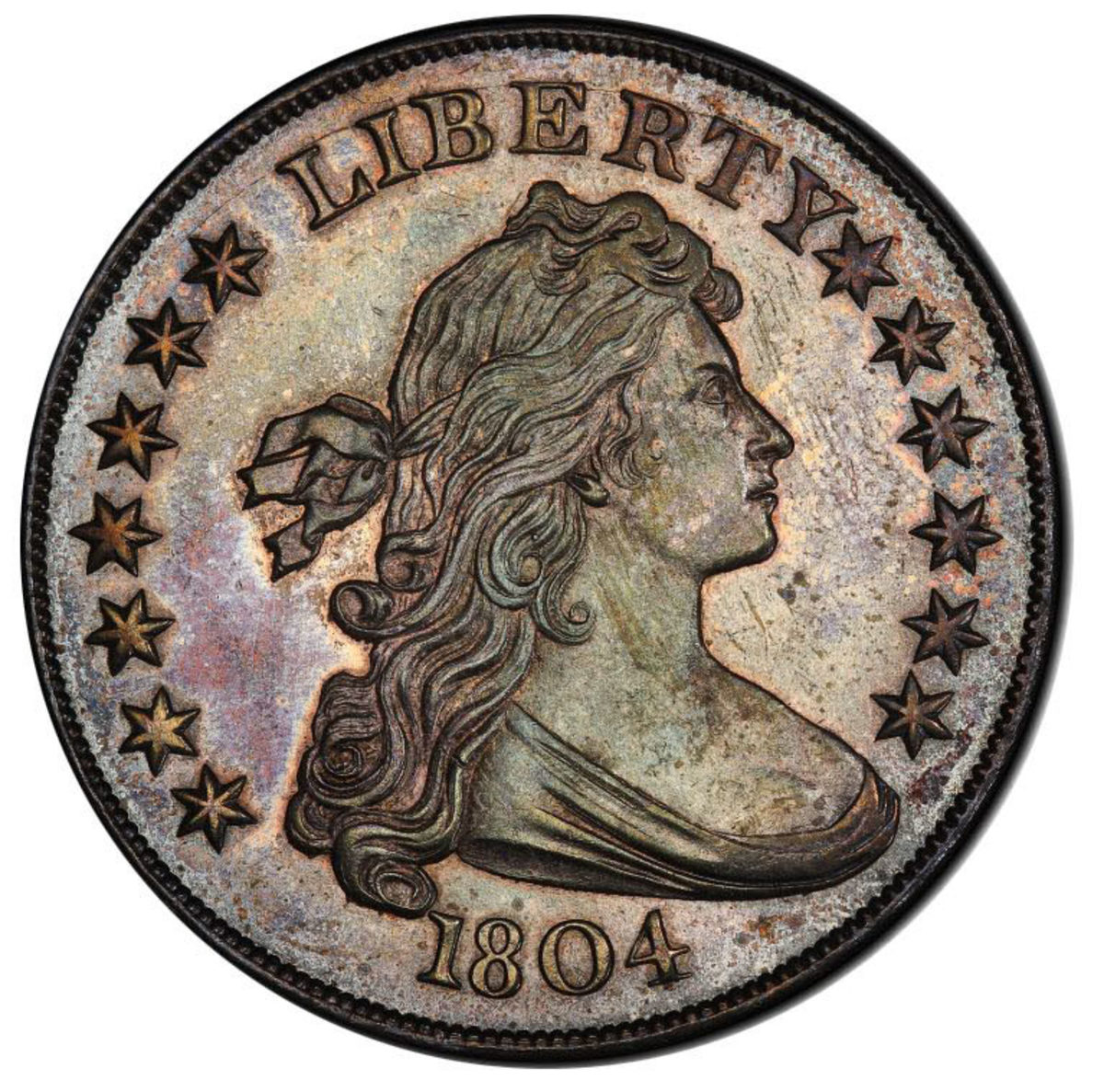 This 1804 dollar, another standout in the auction, has an estimated value of $4 million.