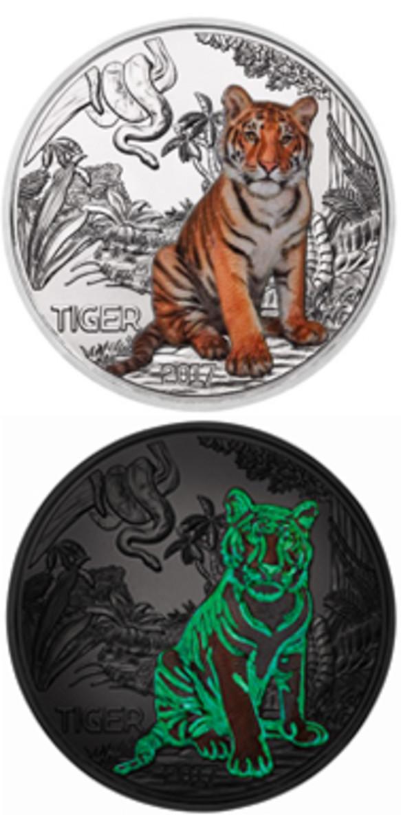 Tiger Glow Vert