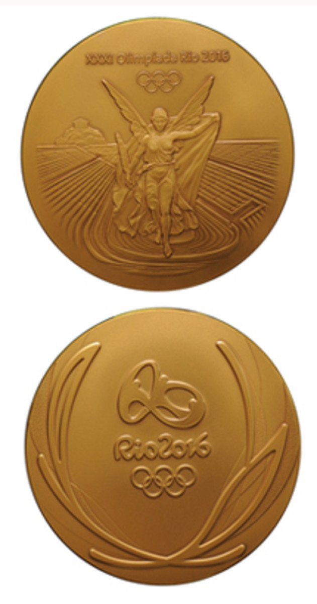 Brazilian 2016 Olympic medals, primarily bronze, are displaying surface problems.