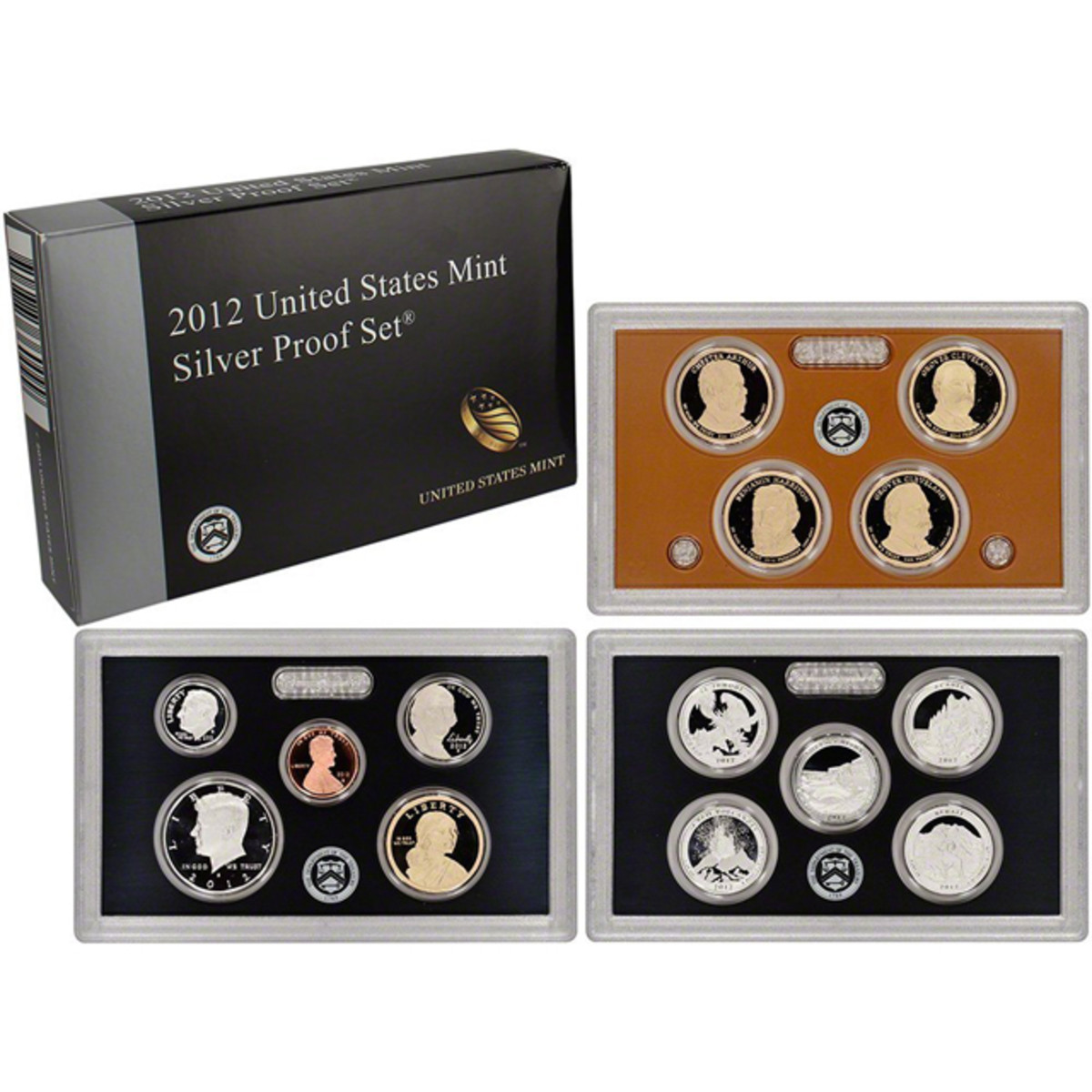 The 2012 silver proof set is one of the few modern proof sets with a premium - a market value of around $200 on a originally $61.95 set.