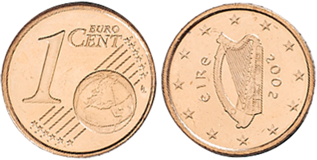 Ireland is looking to eliminate production of the one- and two-Euro cent.