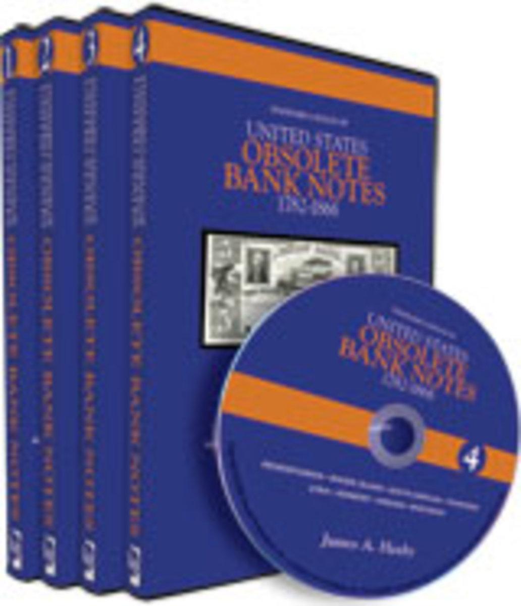Standard Catalog of United States Obsolete Bank Notes 4-CD Set