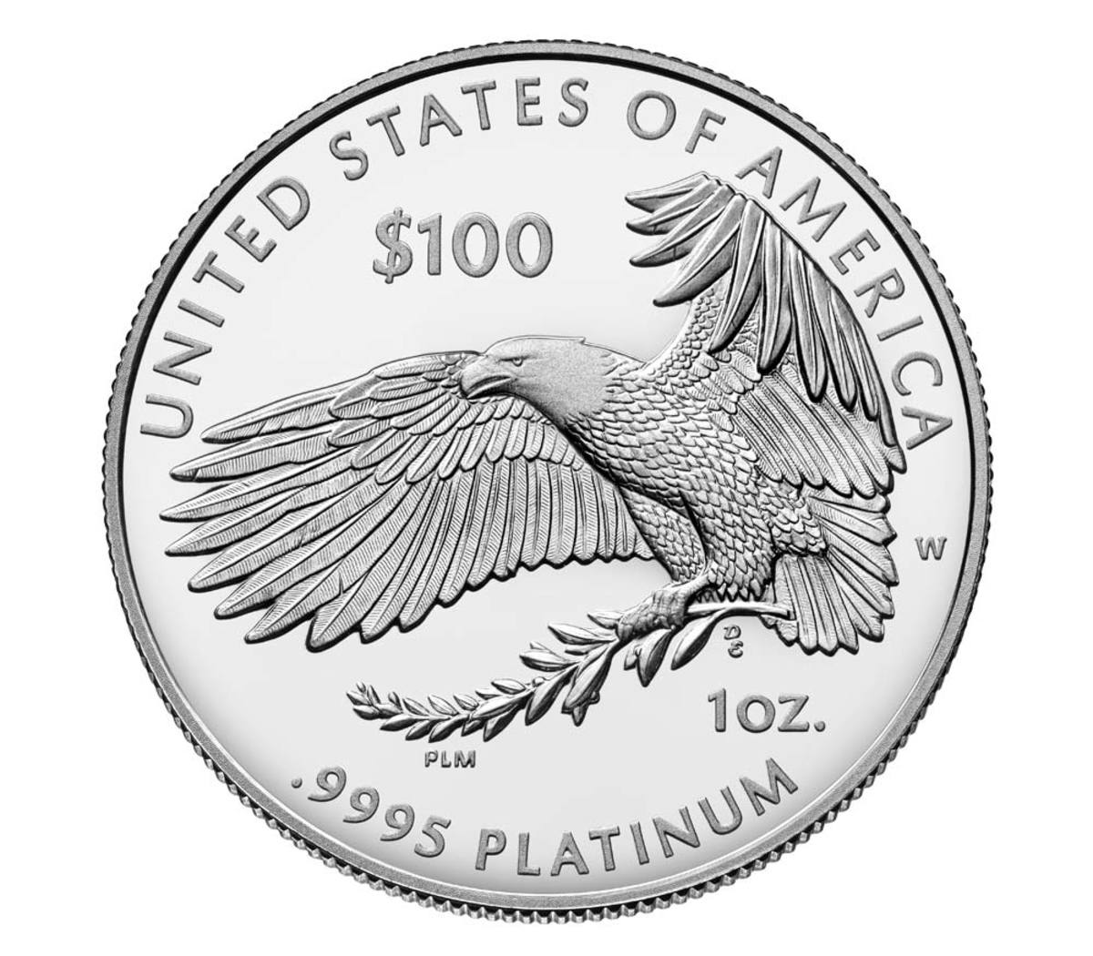 """Shown is the """"Preamble to the Declaration of Independence"""" 2018 Platinum Proof Coin. (Image courtesy of U.S. Mint.)"""