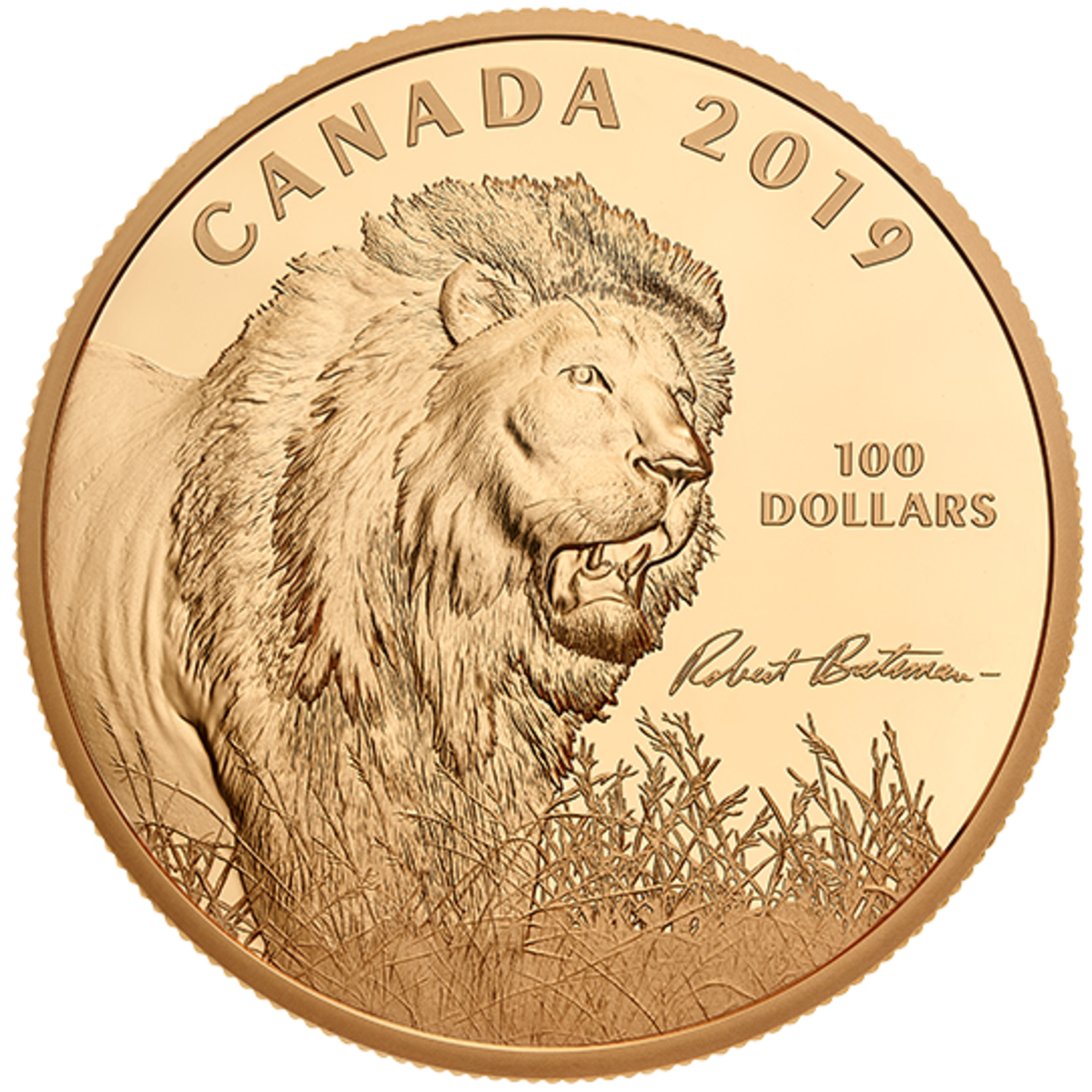 2019 Conservation Coin. Image courtesy of the Royal Canadian Mint.