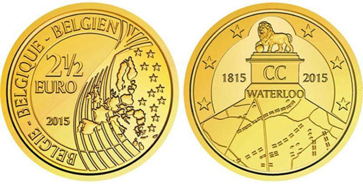 Belgium outmanuevered France's objections to release a 2.5 Euro coin commemorating Napoleon's defeat at Waterloo.