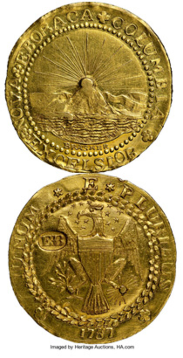 The Brasher doubloon is an American numismatic icon now worth over $5 million.