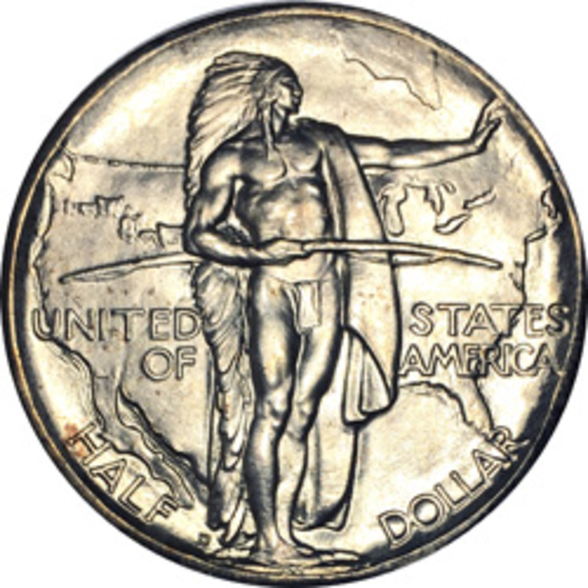 This 1937-D Oregon Trail commemorative half dollar that grades MS66 on the Sheldon scale is MS92 on the Guth 100 Point Coin Grading ScaleSM.