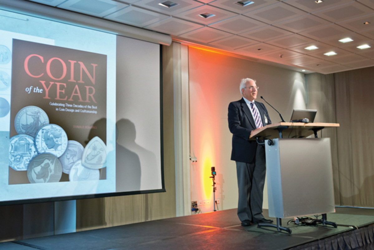 Donald Scarinci, presenter of the 2015 Coin of the Year Awards, talks about his upcoming book about the history of the awards.