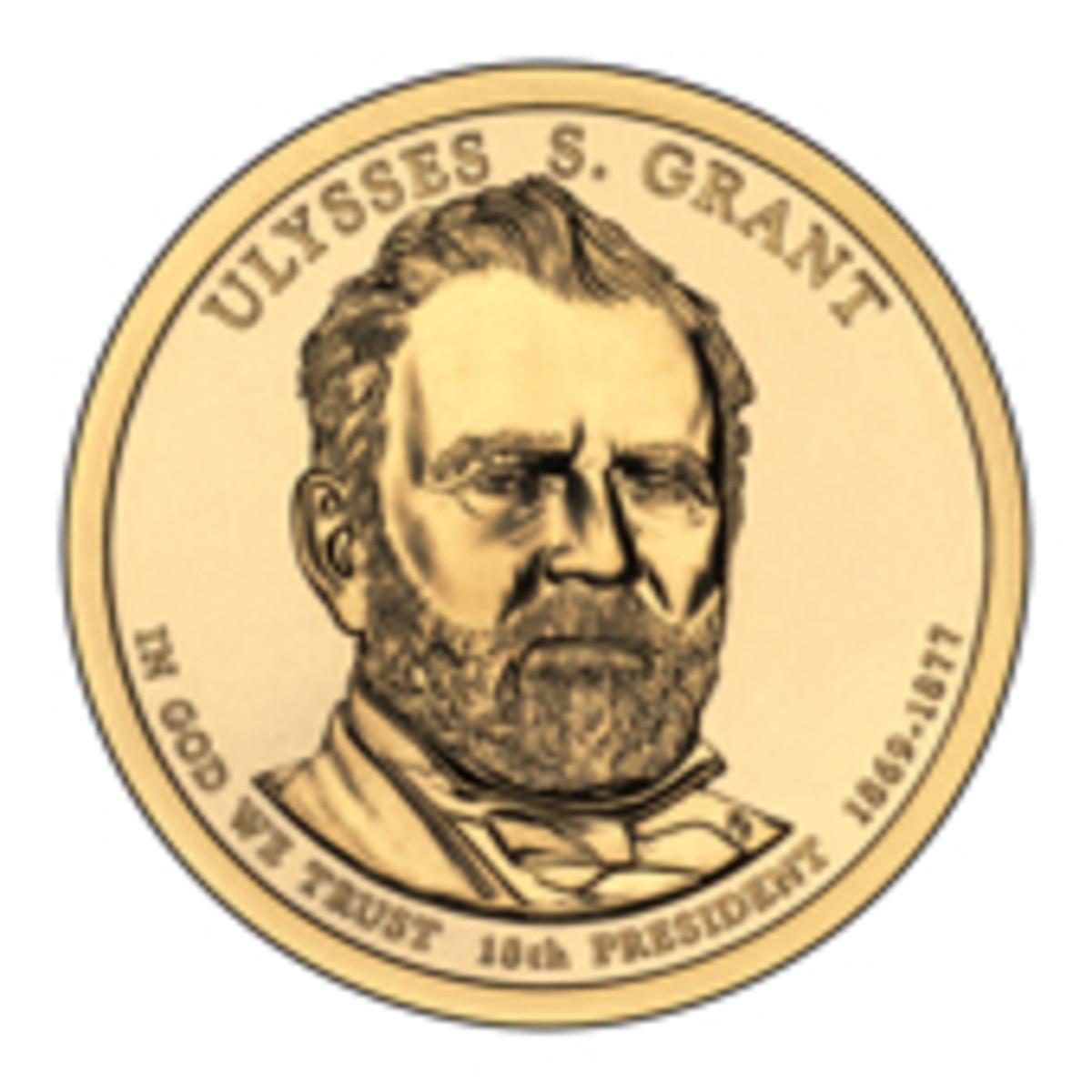 Grant Presidential Dollar Coin