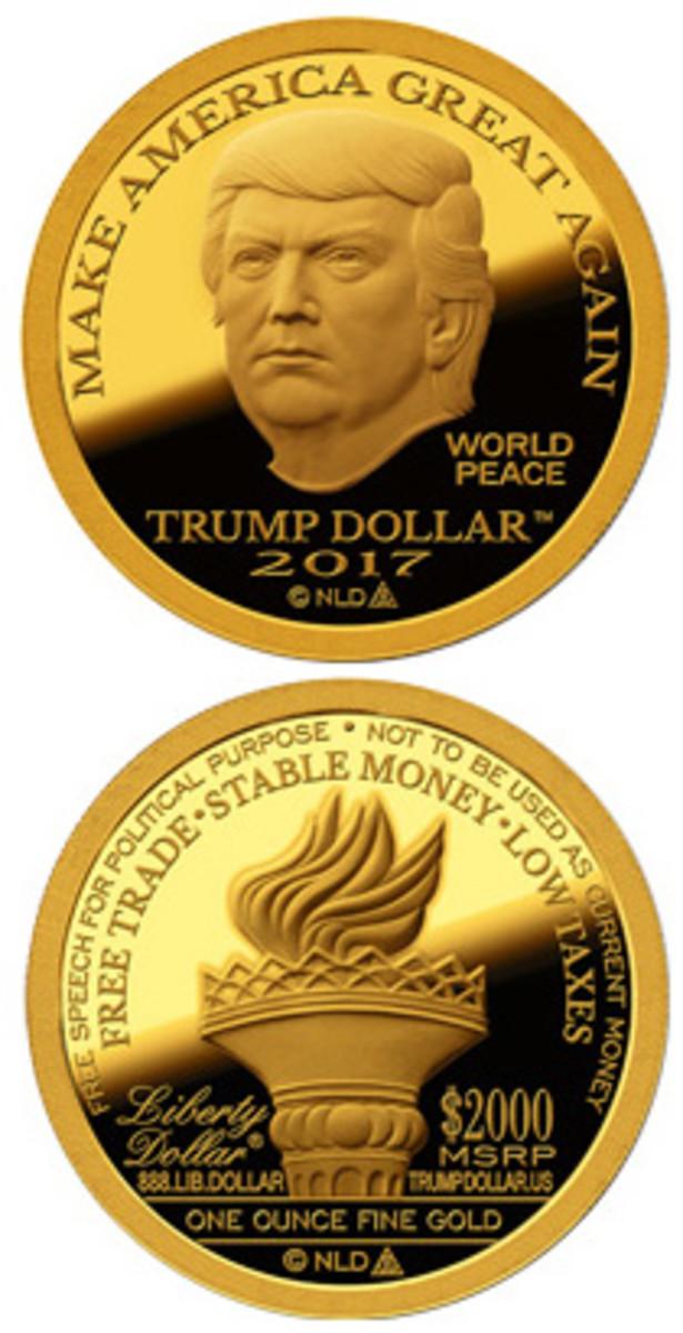 Trump Coin 1 Vert