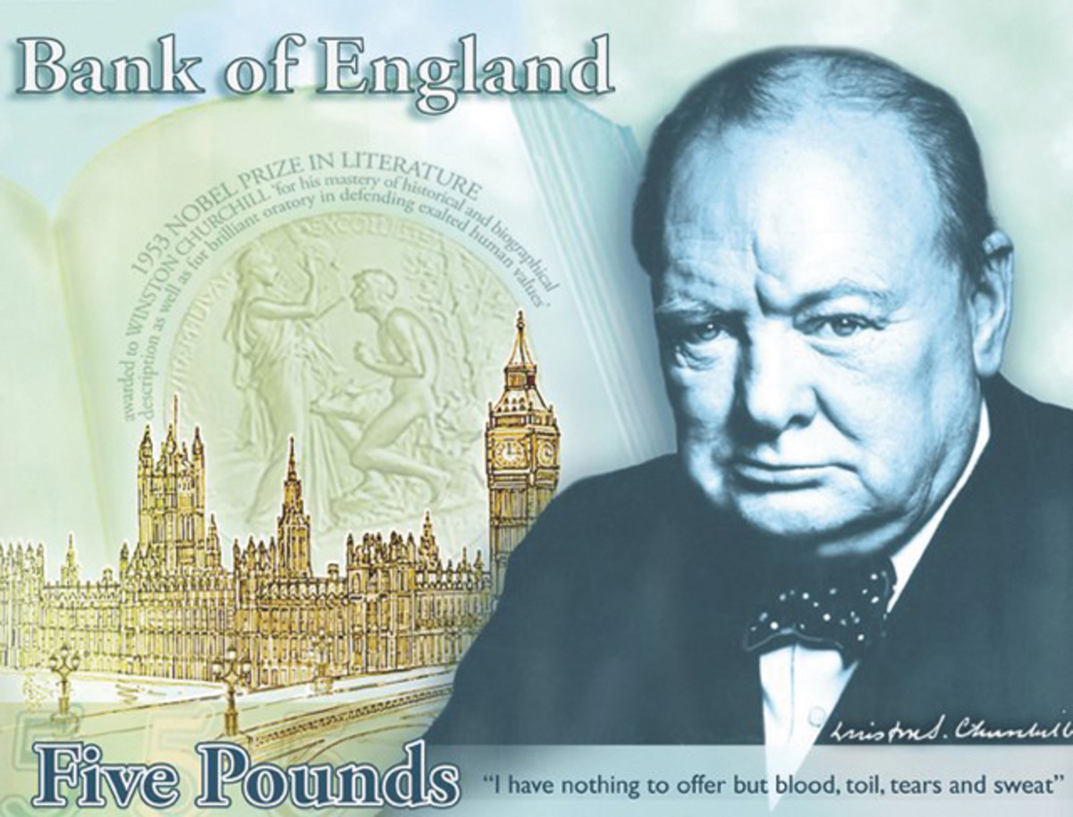 Concept design for Britain's new polymer note. Courtesy BoE.